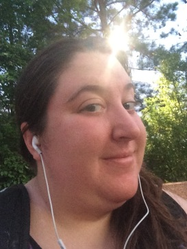 In my sweaty glory as the sun comes up.